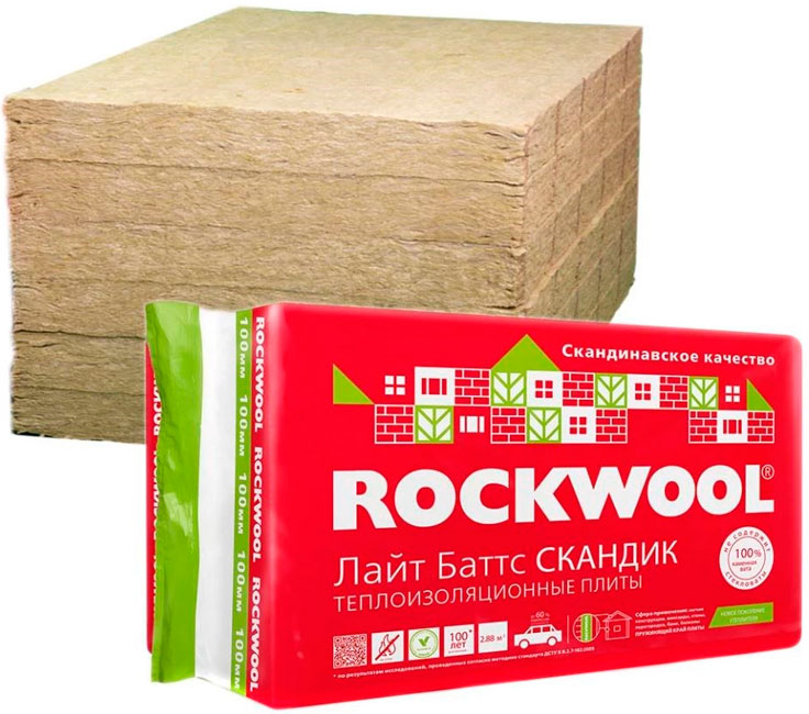 Rockwool Lajt Batts