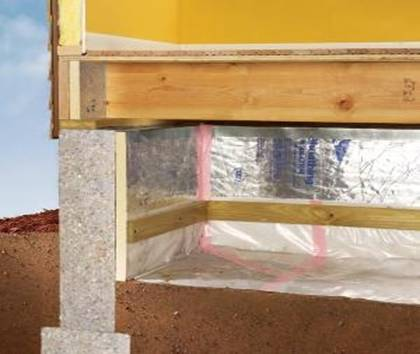 Some Insulation Products Come With a Vapour Barrier Layer
