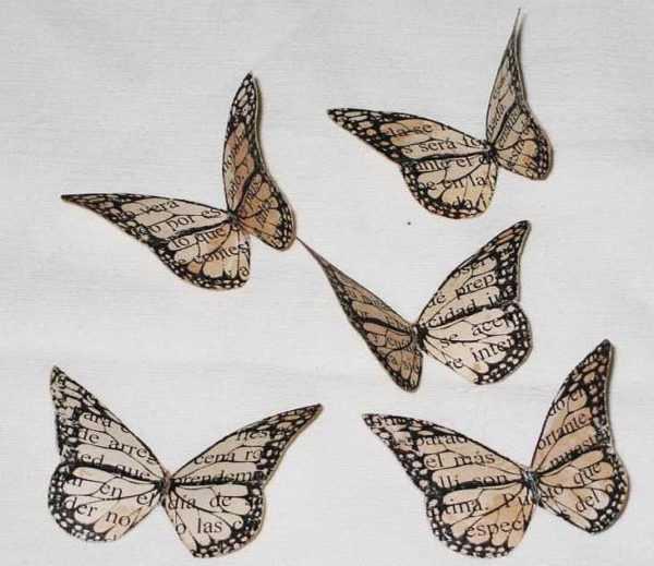 бабочка для вырезания бабочки из бумаги на стену своими